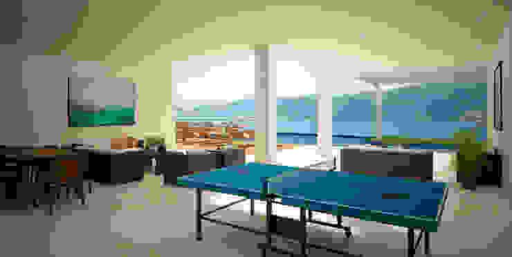 Casa en Acapulco Pasillos, vestíbulos y escaleras modernos de Citlali Villarreal Interiorismo & Diseño Moderno
