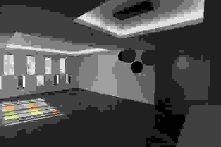 성주동 프리빌리지2차 모던스타일 거실 by 디자인세븐 모던