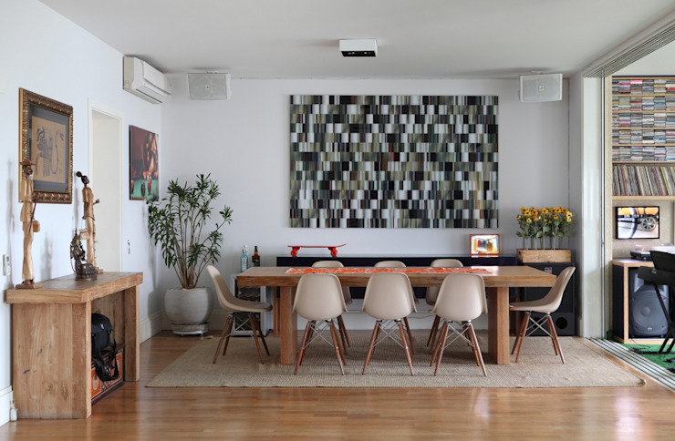 Bruna Riscali Arquitetura e Design Moderne Esszimmer