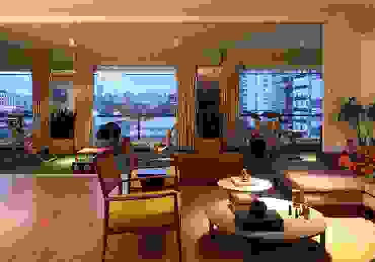 Bruna Riscali Arquitetura e Design Moderne Wohnzimmer