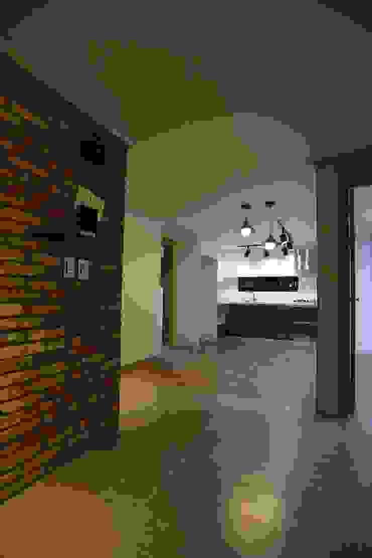 반지대동 그린파크 인더스트리얼 거실 by 디자인세븐 인더스트리얼