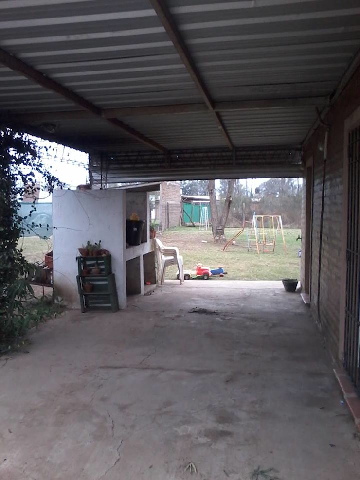 Asador antes y después de Puntoseco - Villa María