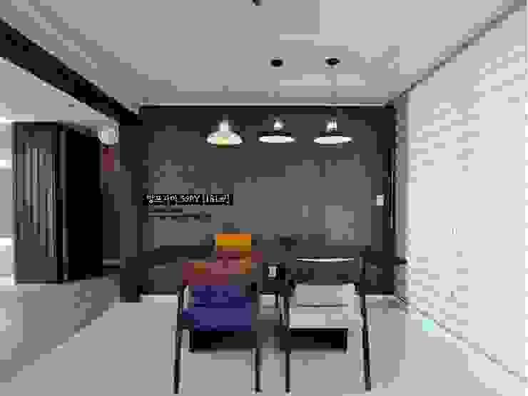 망포마을 망포자이 55평: JMdesign 의  다이닝 룸,모던
