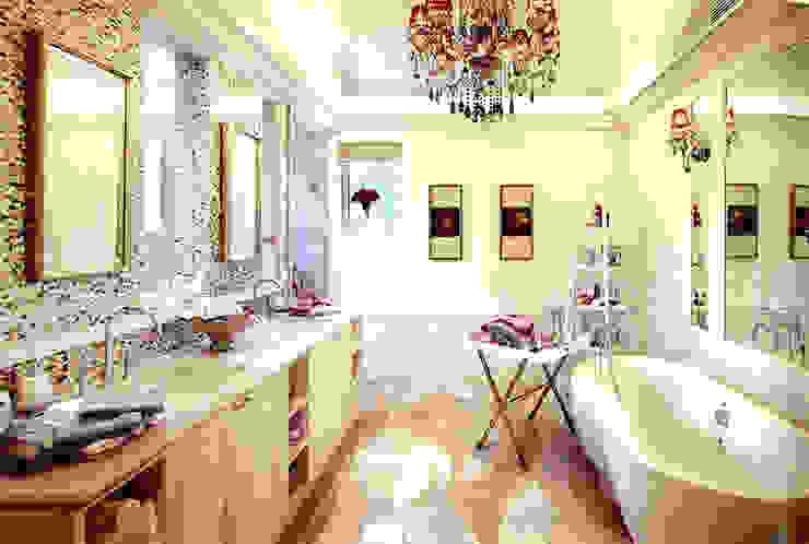 Residential Bathroom in Shenzhen, China Baños de estilo asiático de ShellShock Designs Asiático Azulejos