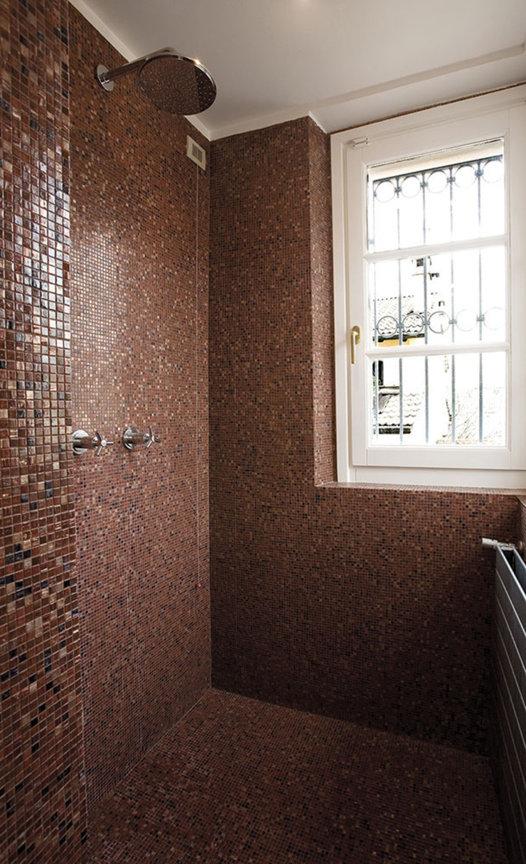 PAZdesign Moderne badkamers Rood