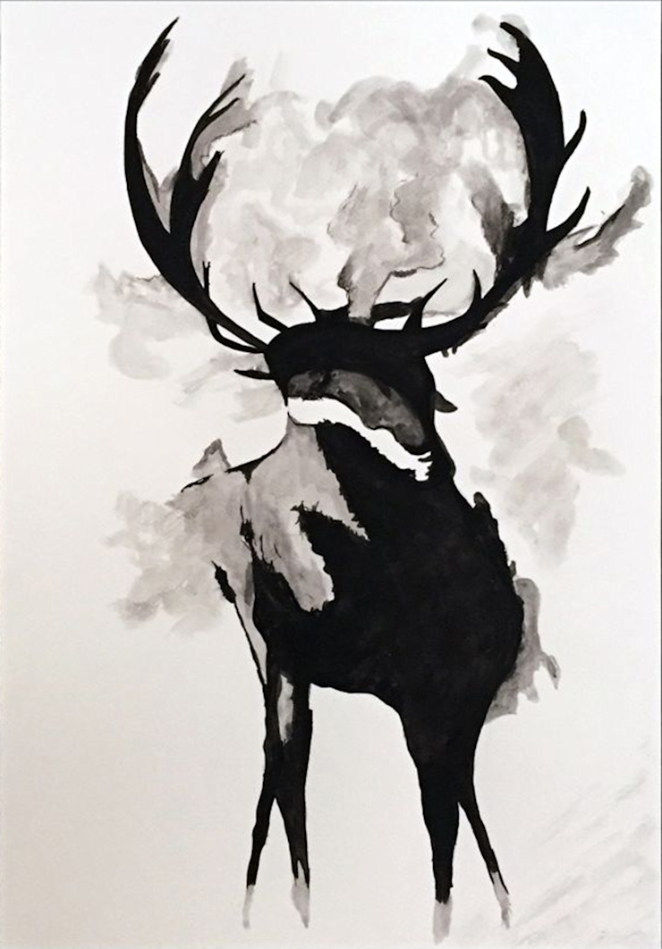 PAINTBYMGB – black&white: modern tarz , Modern