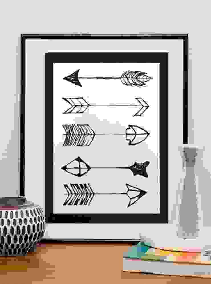 PAINTBYMGB – arrows: modern tarz , Modern