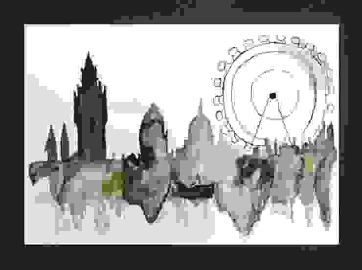 PAINTBYMGB – london: modern tarz , Modern