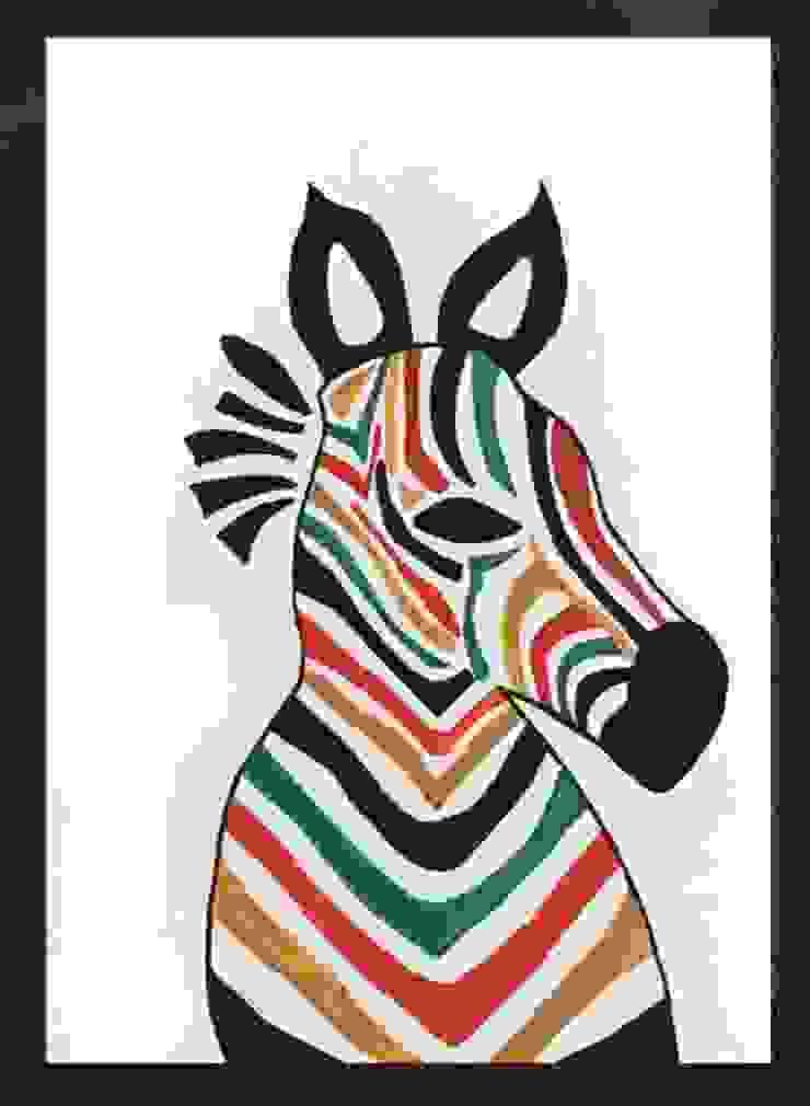 PAINTBYMGB – zebra: modern tarz , Modern