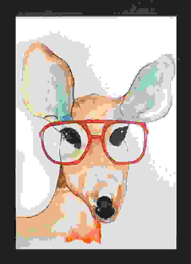 PAINTBYMGB – hipster deer: modern tarz , Modern