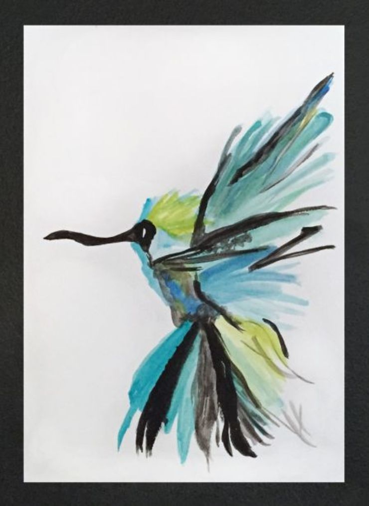 PAINTBYMGB – bird: modern tarz , Modern