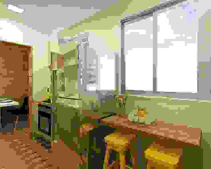 Projeto MC: Cozinhas  por Isadora Cabral Arquitetura