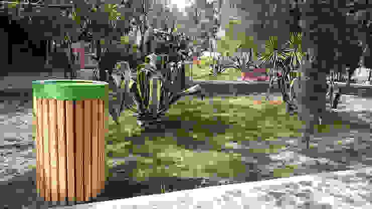 Depósito de desechos Querétaro de Diseño Neko Clásico