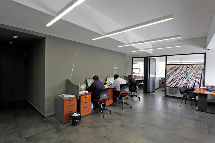 Modern style study/office by ARCO Arquitectura Contemporánea Modern