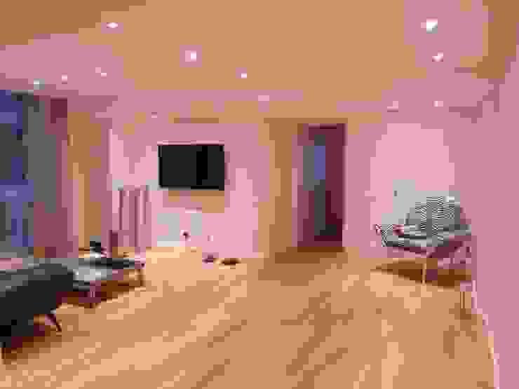 Playroom y sala de estar Salas multimedia modernas de Estudio BASS Arquitectura Moderno