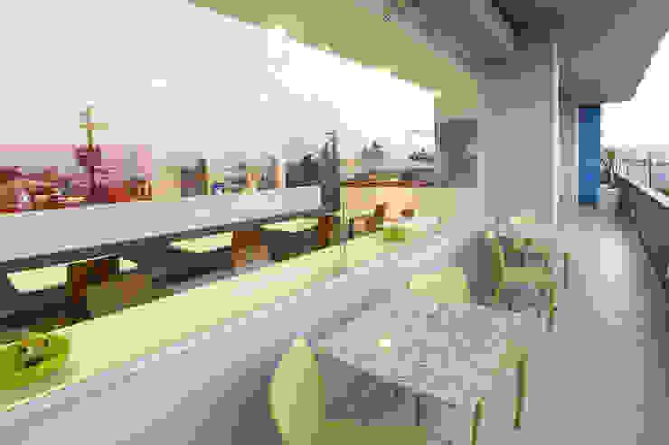 Downtown La Paz Comedores modernos de ARCO Arquitectura Contemporánea Moderno