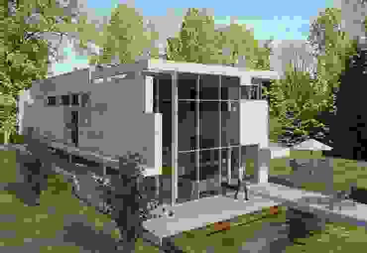 Casa de Agilde Casas minimalistas por Hugo Pereira Arquitetos Minimalista
