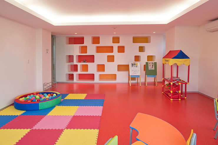Modern nursery/kids room by ARCO Arquitectura Contemporánea Modern