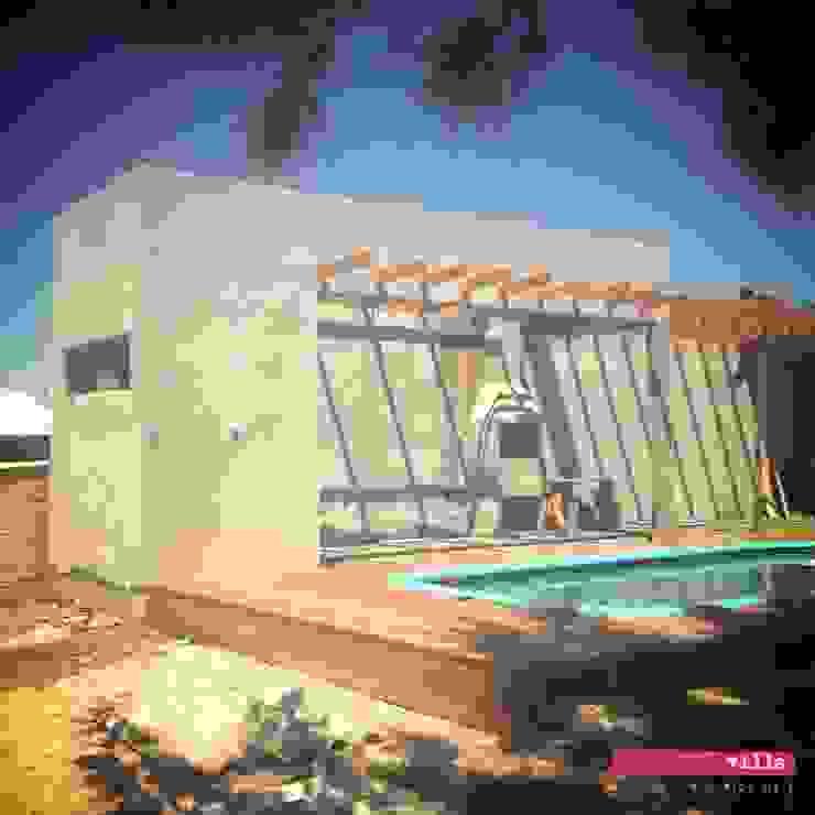 สระว่ายน้ำ โดย .Villa arquitetura e algo mais,