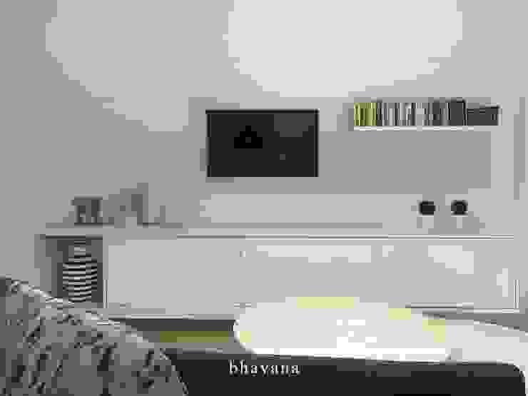 Living Comedor Salones escandinavos de Bhavana Escandinavo