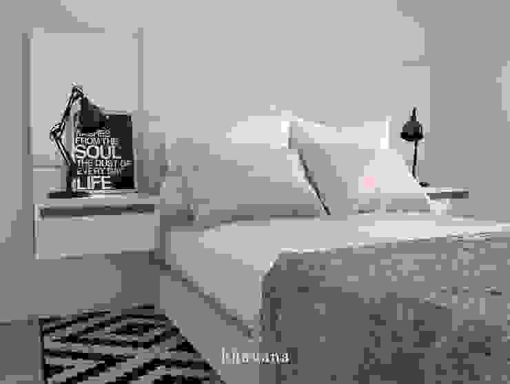 Habitación Dormitorios escandinavos de Bhavana Escandinavo