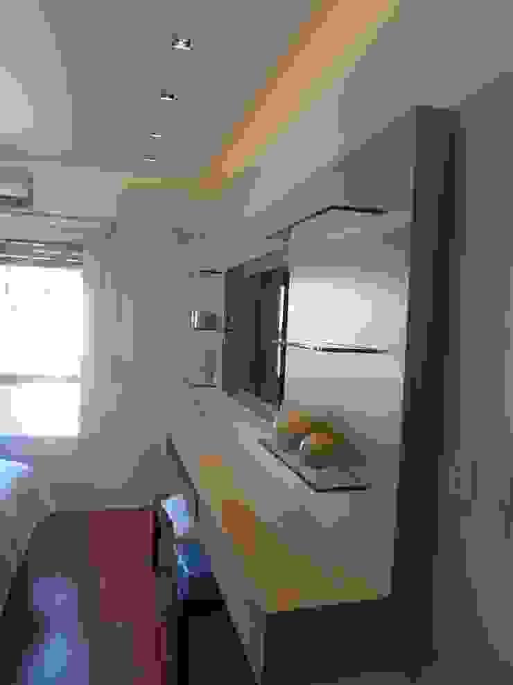 Dormitorio Suite de Estudio BASS Arquitectura Moderno