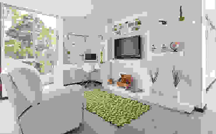 Sala de Star:  de estilo  por Cristina Cortés Diseño y Decoración , Moderno