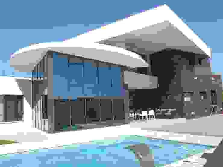 by DYOV STUDIO Arquitectura, Concepto Passivhaus Mediterraneo 653 77 38 06 Середземноморський