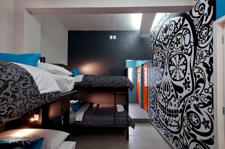 Спальня в стиле модерн от ARCO Arquitectura Contemporánea Модерн