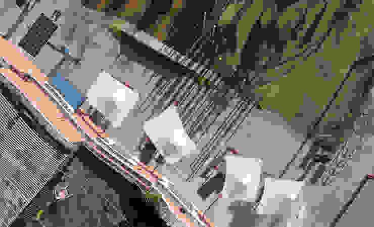 Vista superior de Parasoles Cuernavaca de Diseño Neko Moderno