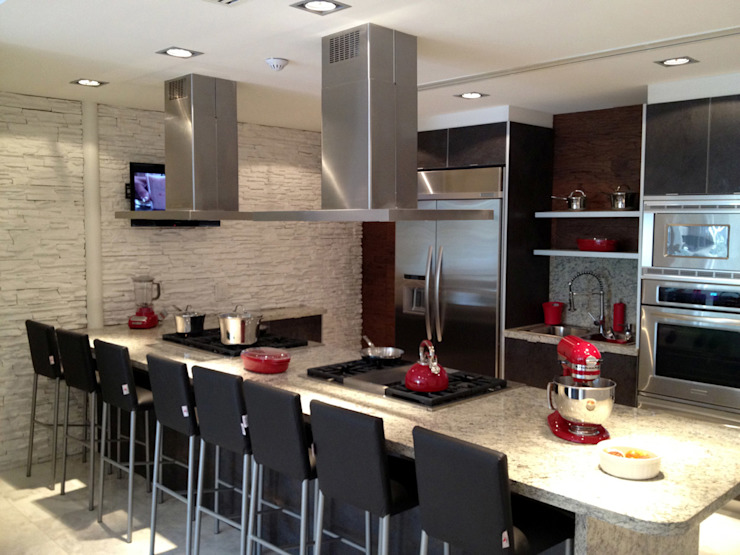 Cocinas de estilo  de ARCO Arquitectura Contemporánea