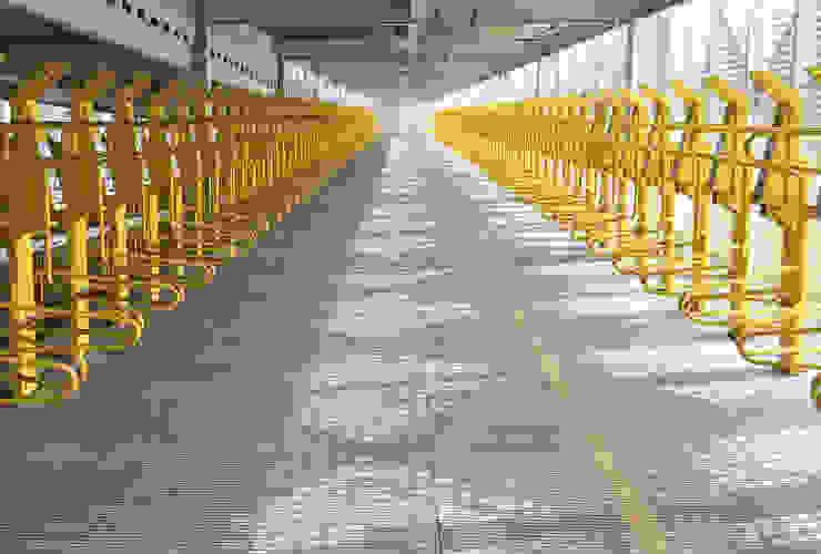 Aparcabicicletas vertical asistido de Diseño Neko Moderno