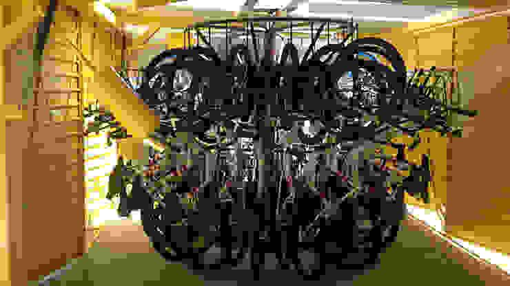 Carrusel para bicis de Diseño Neko Moderno