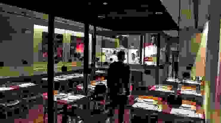 Restaurante BLEND Espaços de restauração industriais por Pedro Ferro Alpalhão Arquitecto Industrial