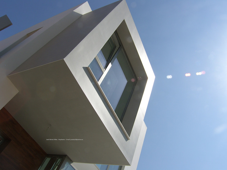 Sirena Casas de estilo moderno de DYOV STUDIO Arquitectura, Concepto Passivhaus Mediterraneo 653 77 38 06 Moderno