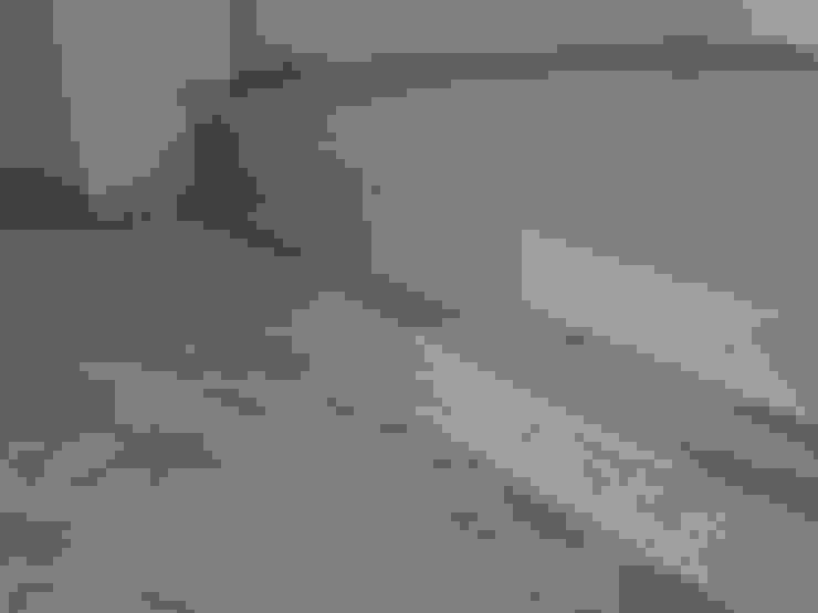 Pavimenti moderni in Tadelakt per monolocale Pareti & Pavimenti in stile moderno di Pavimento Moderno Moderno