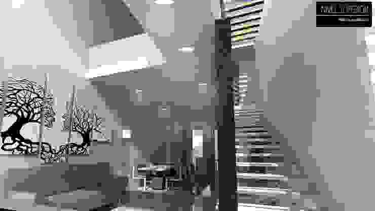 現代風玄關、走廊與階梯 根據 NIVEL SUPERIOR taller de arquitectura 現代風