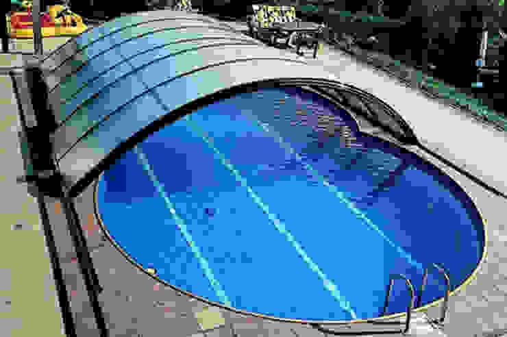 50m2 HAVUZ Modern Bahçe art yapi havuz sistemleri Modern Demir/Çelik