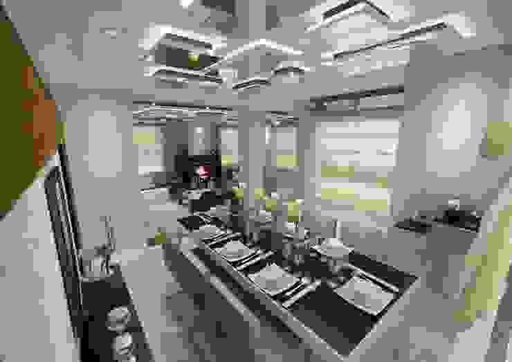 PRATIKIZ MIMARLIK/ ARCHITECTURE – Yemek Odası: modern tarz , Modern