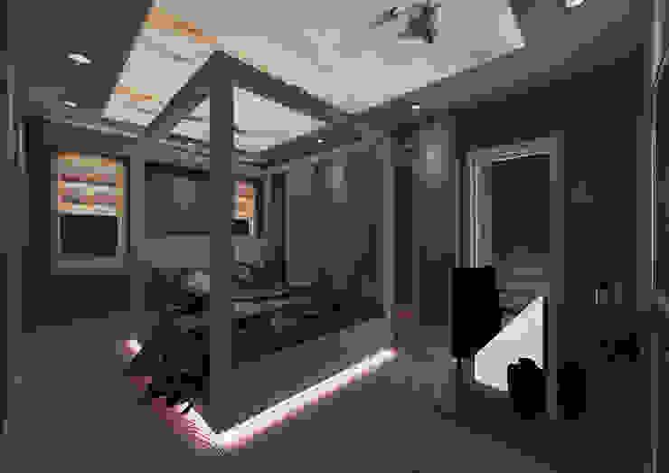 PRATIKIZ MIMARLIK/ ARCHITECTURE – Yatak Odası: modern tarz , Modern