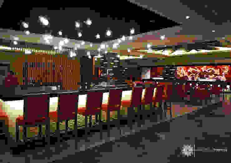 RESTAURANTE ASIATICO en Hyatt ZIva Los Cabos Hoteles de estilo asiático de Marisol Tafich Asiático