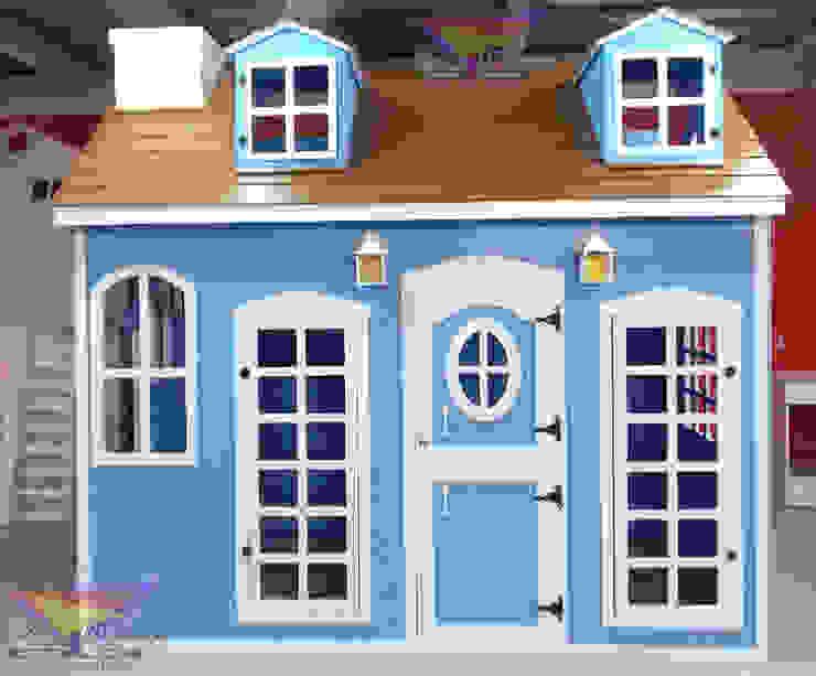 Preciosa casita con escalera oculta de camas y literas infantiles kids world Clásico Madera Acabado en madera