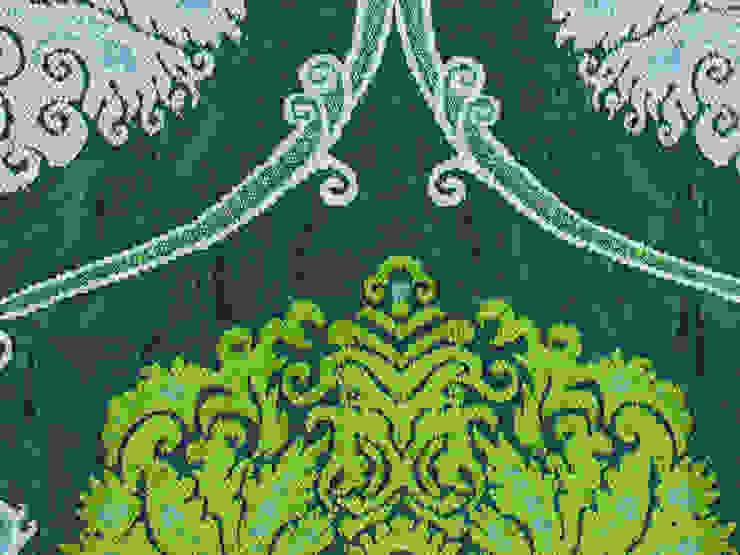 Amelie Esmeralda de Nua Colección Clásico Textil Ámbar/Dorado