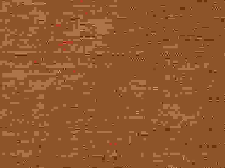 Cassiopeia Rojo Naranja de Nua Colección Moderno Textil Ámbar/Dorado