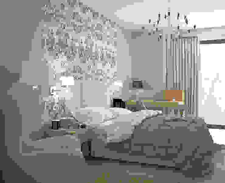 Sypialnia Klasycznie od MIKOŁAJSKAstudio