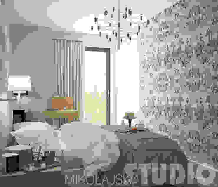 Współczesna Sypialnia W Klasycznym Wydaniu od MIKOŁAJSKAstudio