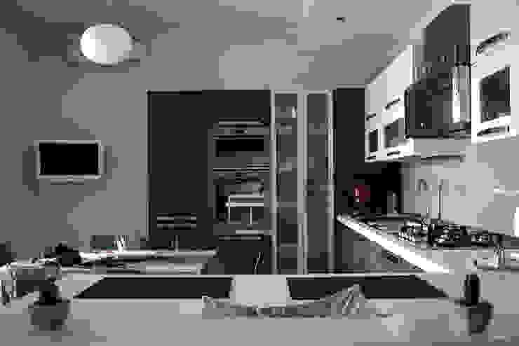 Realizzazioni Cozinhas modernas por DAA - Daniele Auletta Architetto Moderno