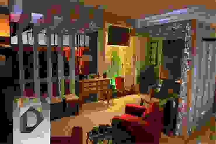 Wohnzimmer von D Arquitetura e Urbanismo