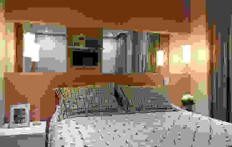 Dormitorios de estilo  por Studio 262 - arquitetura interiores paisagismo , Moderno