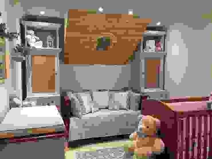 Nursery/kid's room by Lucia Tacla Pinturas Especiais, Modern